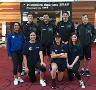 University teams depart for China for the 3x3 Basketball WUL