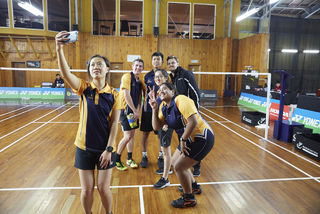 Tertiary and Secondary Badminton on show in Porirua