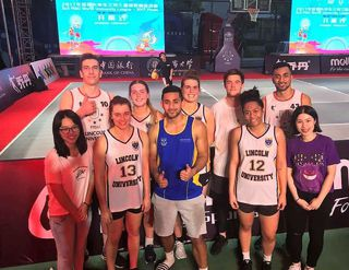 Lincoln University at the World 3x3 University League