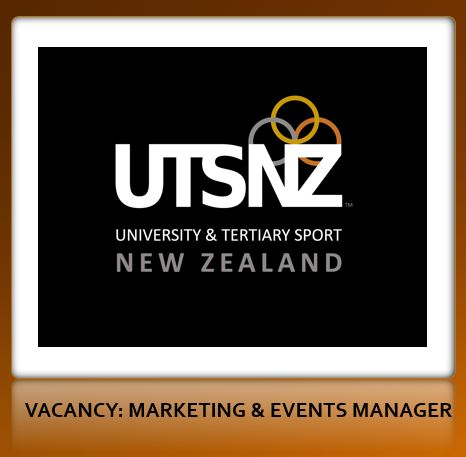UTSNZ  Vacancy: Marketing and Events Manager
