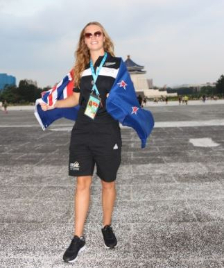 Flag bearer named for New Zealand Team at World University Games