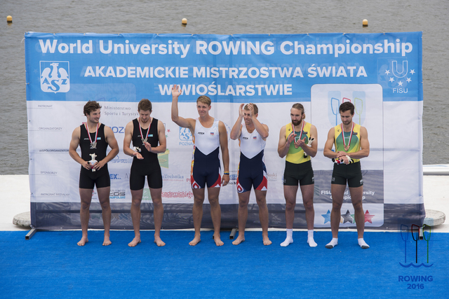 Men's pair take silver at World University Championships