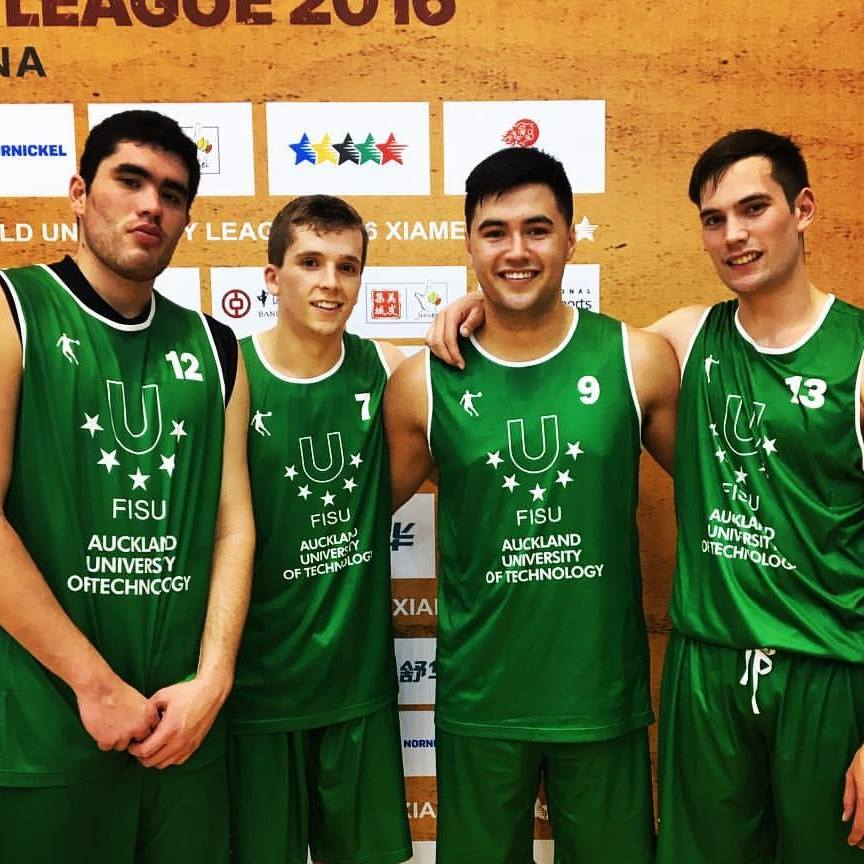 AUT and UoA 3x3 Basketball teams return from China