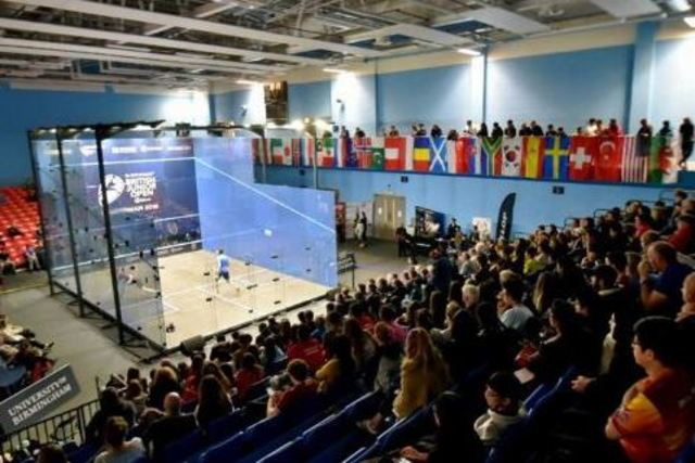 Talented tertiary squash players to take on the world's best in Birmingham